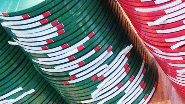 No more red and green leader tape for sale…